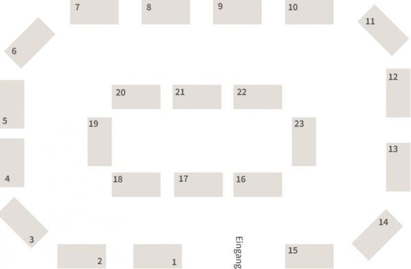 Lageplan in der Reinhardtskirche